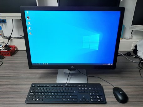 Complete HP pc set /i5-4570T|4GB DDR3|128GB SSD|24