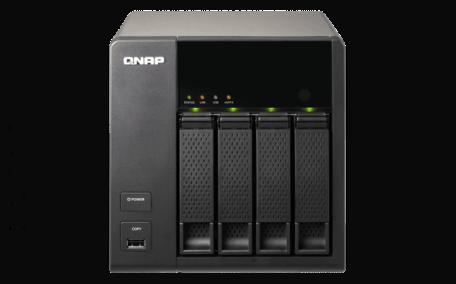 QNAP TS-469L NAS/Dual-Core 2.13GHz(Intel)/1GB DDR3/4 Bays
