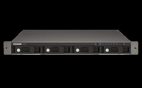 QNAP Turbo NAS TS-421U/Marvell 2.0 GHz/1GB DDR3/4 Bays