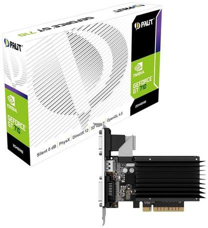 VGA PALIT GeForce GT710 1GB DDR3 / DVI / HDMI