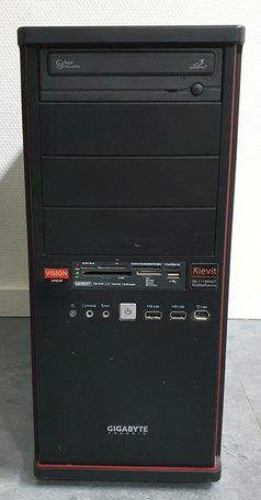 ASRock Desktop PC/ AMD A4-3400/ 120GB SSD/ 4GB DDR3/ Win10 Home