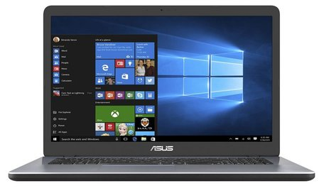 ASUS VivoBook 17 X705MA Notebook Grijs 43,9 cm (17.3