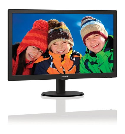 Mon Philips 23.6Inch 243V5LHAB / F-HD / DVI / HDMI / SPK