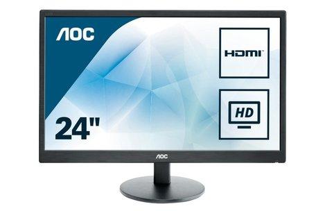AOC Basic-line E2470SWH LED display 61 cm (24