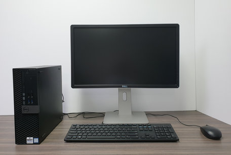 Complete DELL PC set| i3-6100| 8GB DDR3| 240GB SSD| 21,5