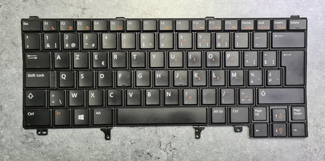 Dell Notebook Keyboard AZERTY NSK-DVCUC