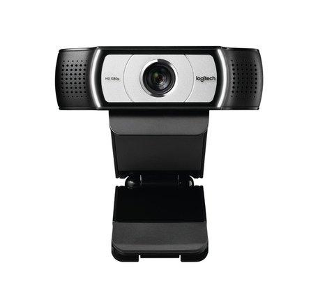 Logitech C930e webcam 1920 x 1080 Pixels USB Zwart