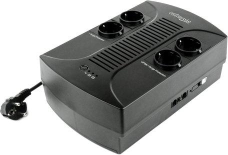 Gembird EG- -002 UPS 0,85 kVA 510 W 4 AC-uitgang(en)