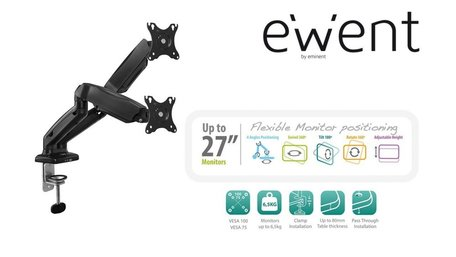 Ewent EW1516 flat panel bureau steun 81,3 cm (32