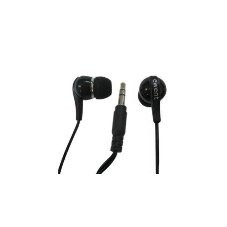 Ewent EW3584 hoofdtelefoon/headset Hoofdtelefoons In-ear Zwart