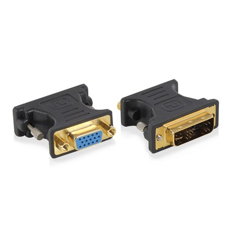 Ewent EW9850 tussenstuk voor kabels DVI-A VGA Blauw