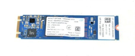 Intel Optane Memory M.2 16 GB PCI Express 3.0 3D XPoint NVMe