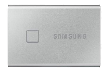 Samsung MU-PC1T0S, T7 Touch, 1000 GB, USB Type-C, 3.2 Gen 2 (3.1 Gen 2), 1050 MB/s, Wachtwoordbeveiliging, Zilver