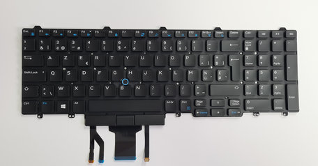Dell 4WM2N| Notebook Keyboard AZERTY