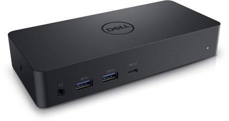 DELL D6000 Bedraad USB 3.2 Gen 1 (3.1 Gen 1) Type-C Zwart