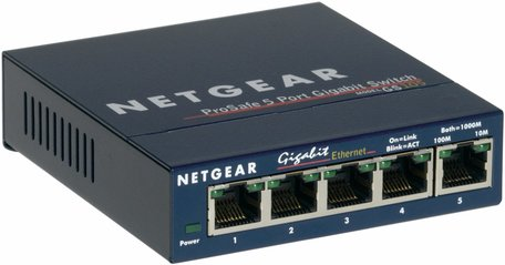 Netgear ProSafe 5 Port Gigabit Desktop Switch