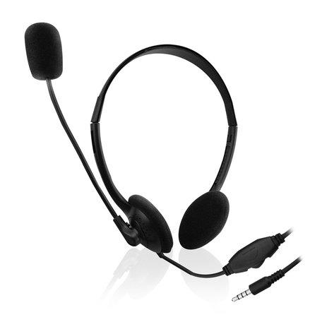 Ewent EW3567 headphones/headset Hoofdband Zwart