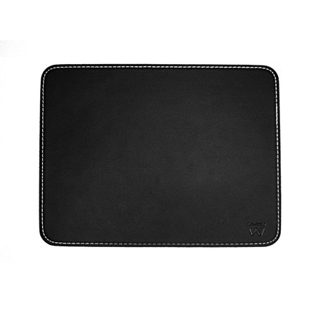 Ewent Mouse Pad Black leather look