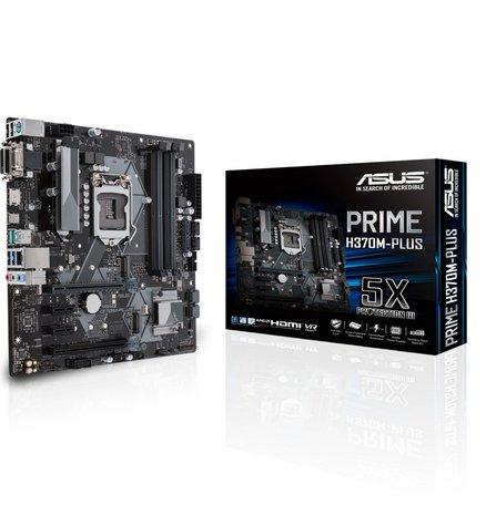 ASUS PRIME B360M-K moederbord LGA 1151 (Socket H4) Micro ATX Intel® B360