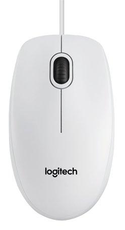 Logitech B100 muis USB Optisch 800 DPI Ambidextrous