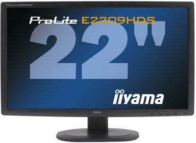 Iiyama ProLite E2209HDS/ Full HD/ DVI,HDMI,VGA/ 22''