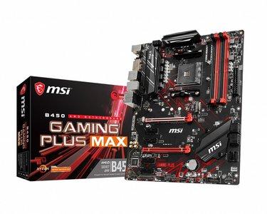 MSI B450 GAMING PLUS MAX moederbord Socket AM4 ATX AMD B450